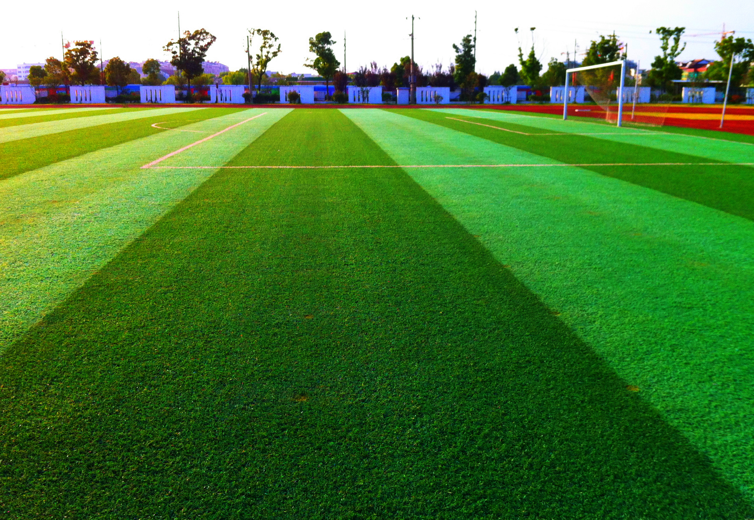 Sport artificial turf for American football